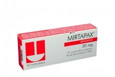 Mirtapax 30 mg Caja Con 30 Comprimidos Recubiertos Rx4