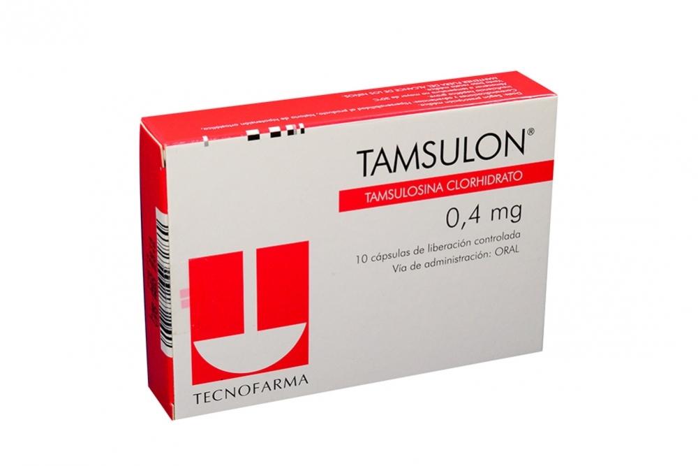 Tamsulon 0.4 mg Caja Con 10 Cápsulas De Liberación Controlada Rx