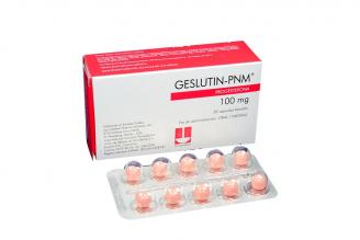 Geslutin PNM 100 mg Caja Con 30 Cápsulas Blandas Rx