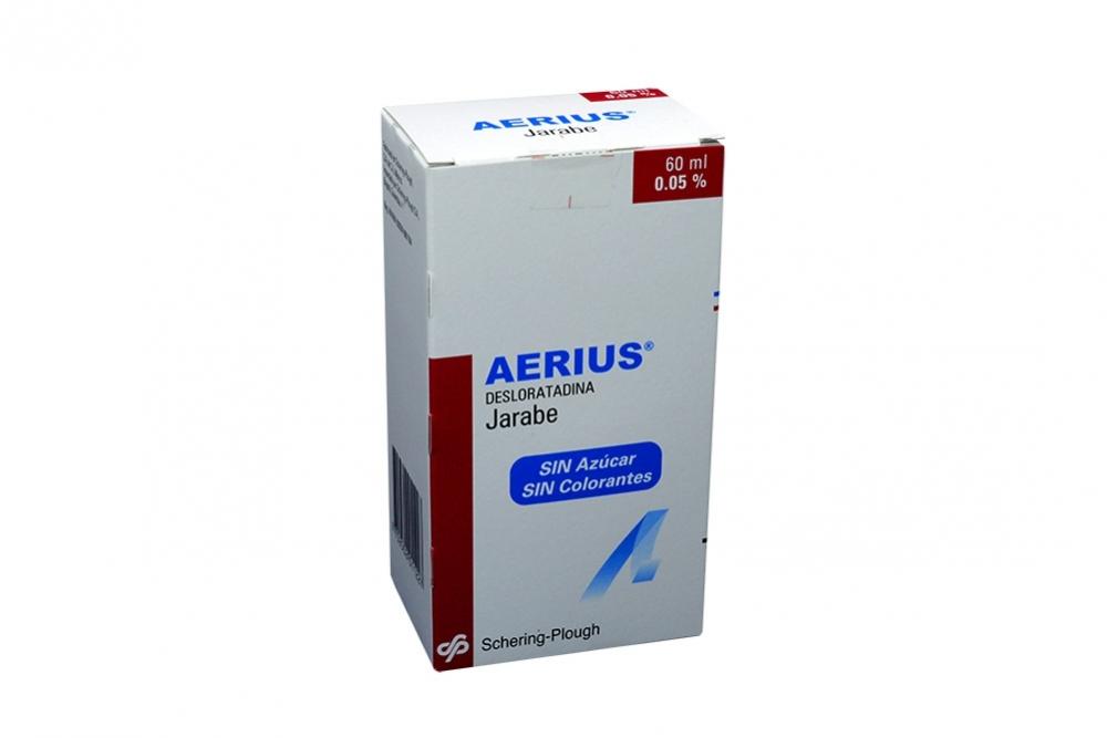 Aerius Jarabe 0.05% Caja Con Frasco Con 60 mL Rx