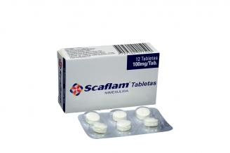 Scaflam 100 mg Caja Con 12 Tabletas Rx