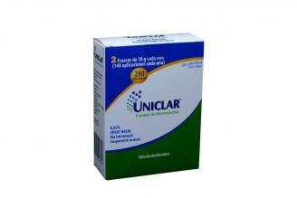 Uniclar Suspensión Acuosa 0.05% Caja Con 2 Frascos Con 18 g Rx