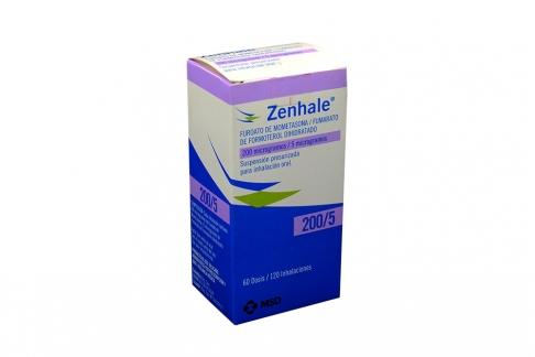 Zenhale Suspensión 200 / 5 mcg Caja Con Inhalador Con 60 Dosis Rx4