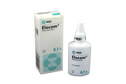 Elocom Locion 0.1 % Caja Con Frasco Con 30 mL Rx