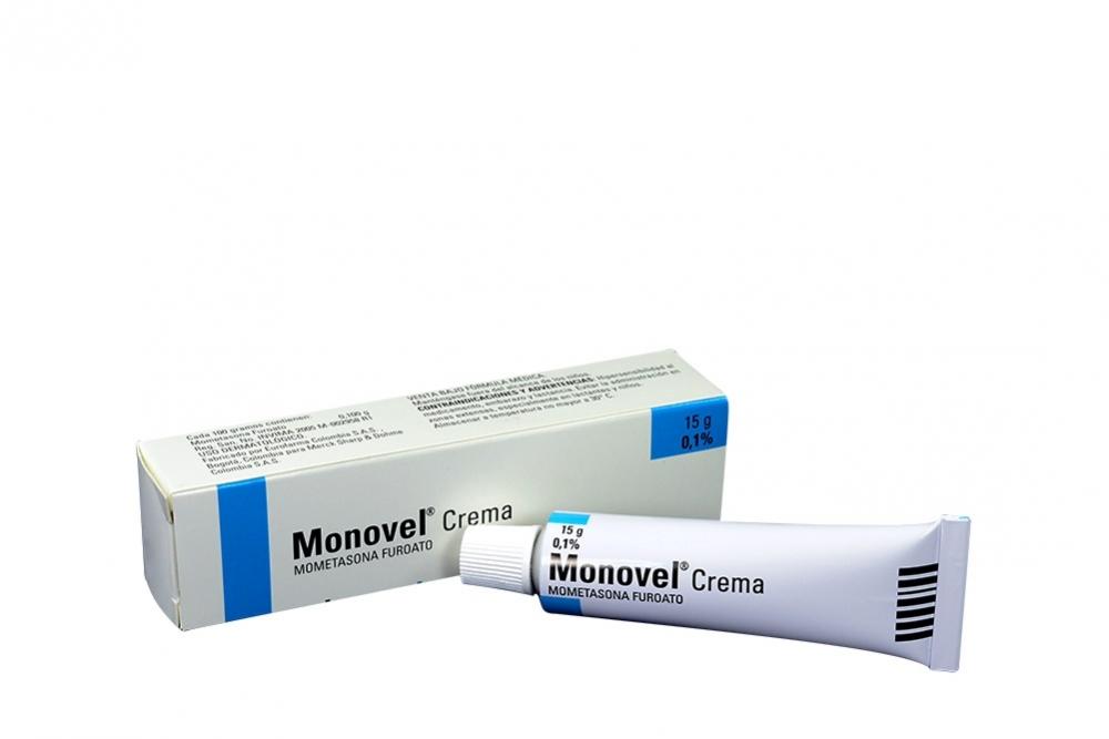 Monovel 0.1 % Crema Caja Con Tubo Con 15 g RX