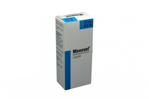 Monovel Loción 0,1 % Caja Con Frasco Con 30 mL Rx