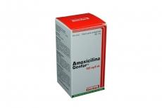 Amoxicilina Suspensión 125 mg / 5 mL Caja Con Frasco Con 45 mL Rx2