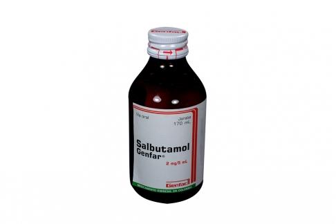 Comprar Salbutamol 2 Mg Jarabe X 170 Ml En Farmalisto