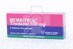Membritol 500 mg Caja Con 8 Tabletas Rx2