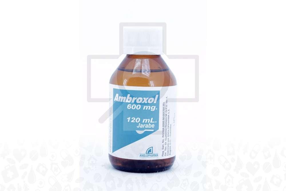Ambroxol Jarabe 600 Mg Frasco Con 120 mL