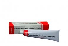 Betametasona+Clotrimazol+Neomicina 0.04 / 1.0 / 0.5 g Caja Con Tubo Con 40 g Rx