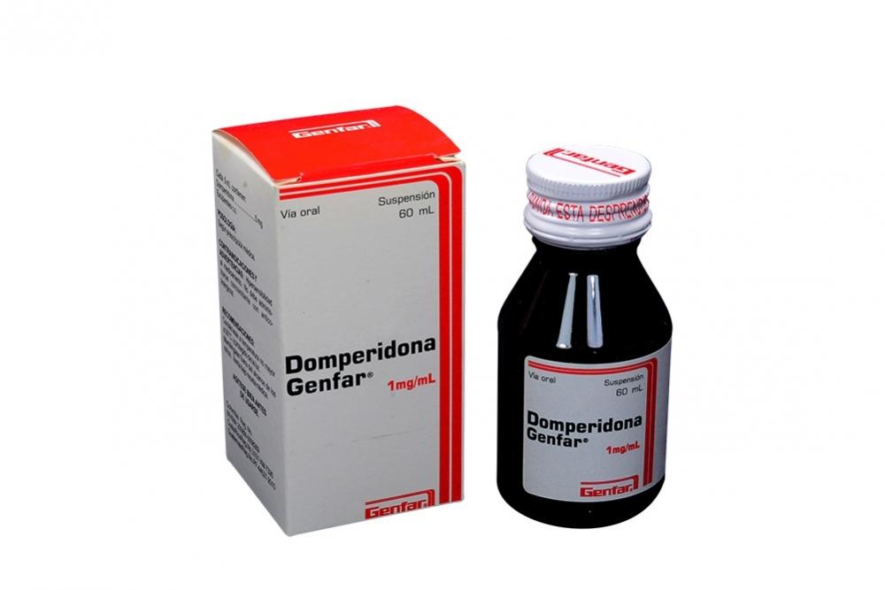 Domperidona 1mg/mL - Suspensión Oral X60ml Rx