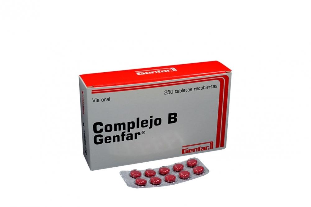 ff493517e Comprar Complejo B Genfar 250 Tabletas En Farmalisto Colombia.