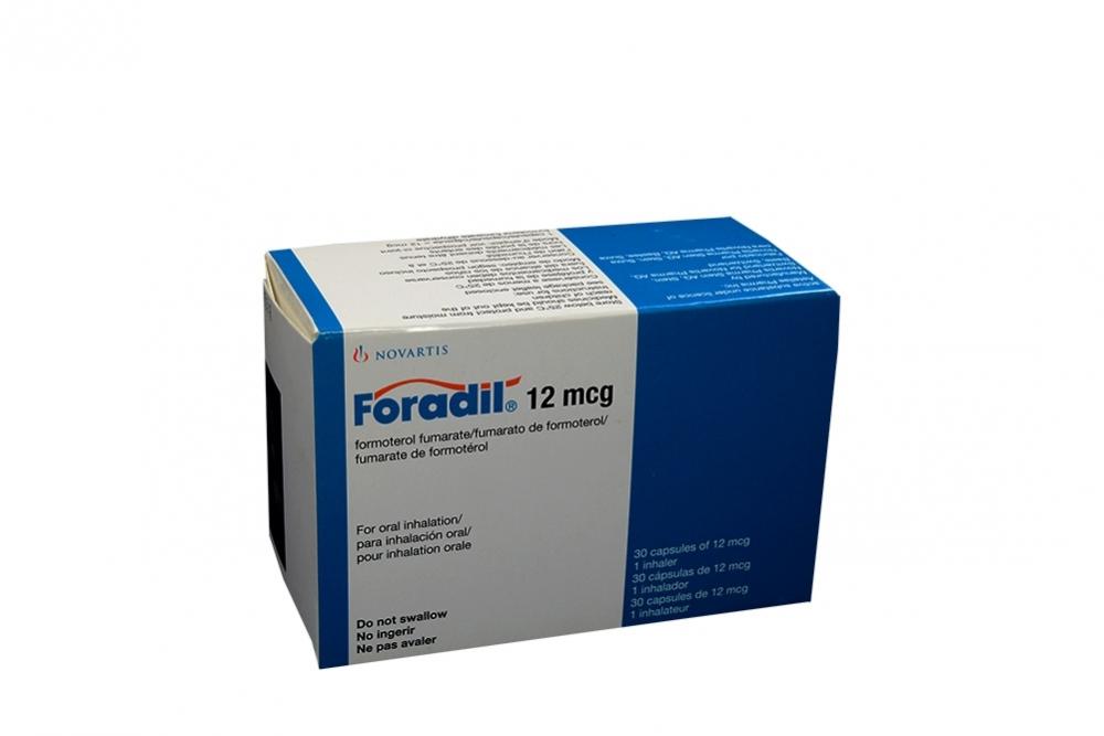 Comprar Foradil 12 mcg Caja 30 Cápsulas En Farmalisto Colombia