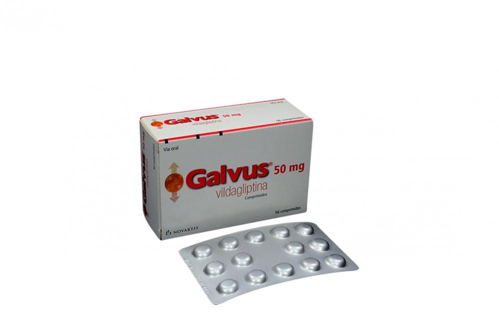 Galvus 50 mg Caja Con 56 Comprimidos Rx4