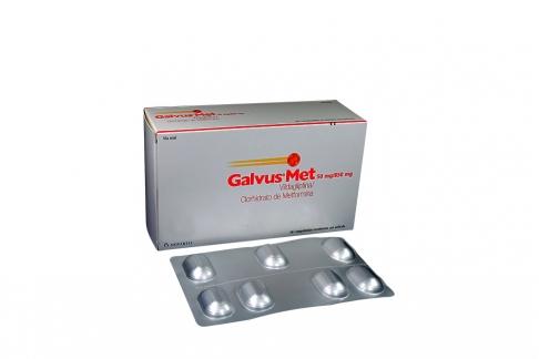 Galvus Met 50 / 850 mg Caja Con 56 Comprimidos Recubiertos Rx4
