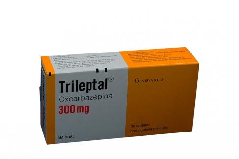 Trileptal 300 mg Caja Con 30 Tabletas Con Cubierta Pelicular Rx4