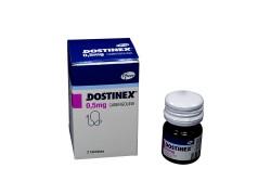 Dostinex 0.5 mg Frasco x 2 Tabletas Rx4