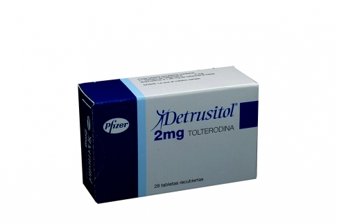 Detrusitol 2 mg Caja Con 28 Tabletas Recubiertas Rx4