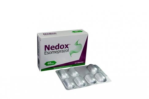 Nedox 40 Mg Caja Con 14 Cápsulas RX