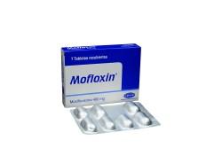 Mofloxin 400 mg Caja Con 7 Tabletas Recubiertas Rx2 RX4