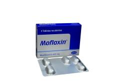 Mofloxin 400 mg Caja Con 5 Tabletas Recubiertas Rx2