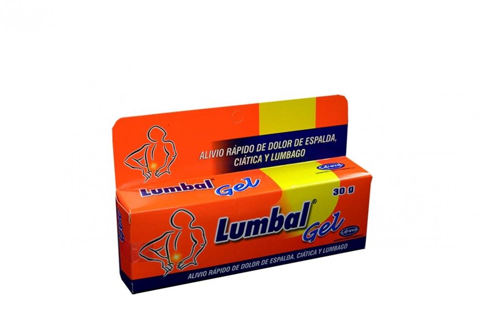 Lumbal Gel Caja Con Tubo Con 30 g