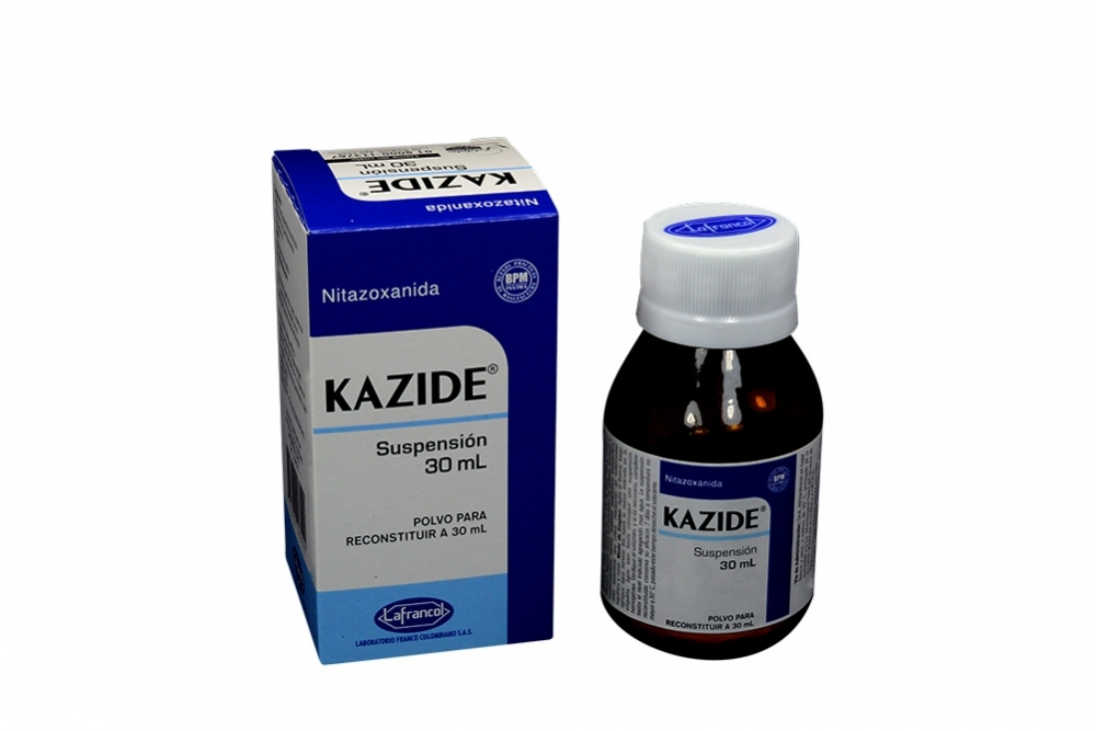 Kazide Suspensión Caja Con Frasco Con 30 mL Rx