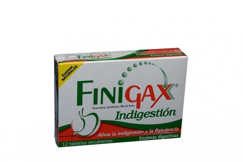 FINIGAX CAJA X 12 TABLETAS