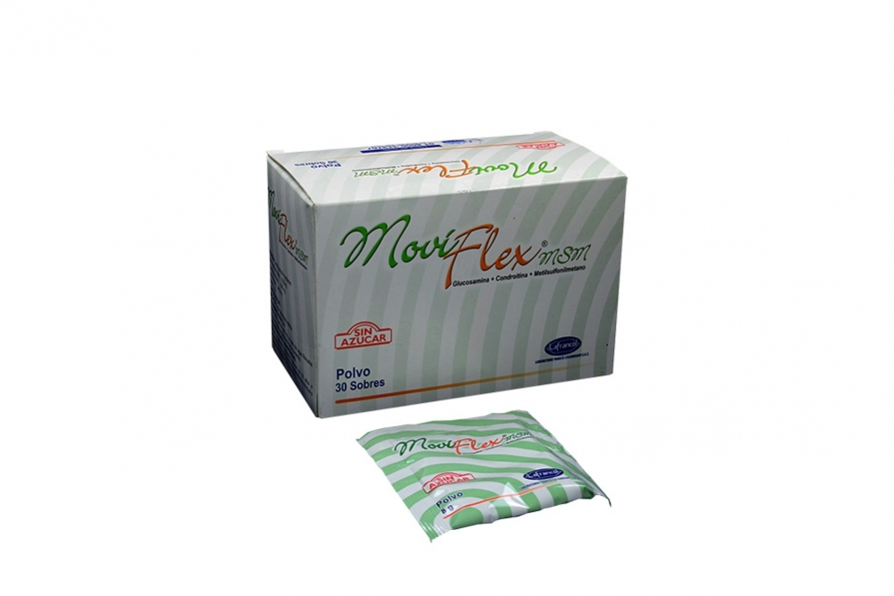 Moviflex Msm Caja Con 30 Sobres Sin Azucar Rx