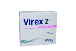 Virex Z 800 mg Caja Con 35 Tabletas Rx