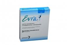 Evra Parche Transdermico Caja Con 3 Unidades Rx