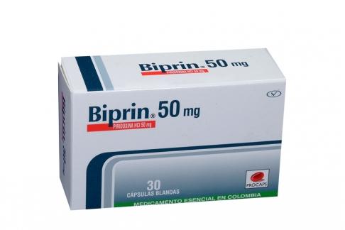Biprin 50 mg Caja Con 30 Cápsulas Rx