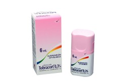 Tobracort 0.3 % Suspensión Oftálmicas Caja Con Frasco Con 6 mL Rx
