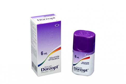 Dorzopt Solución Oftalmica Caja Con Frasco Con 6 mL Rx