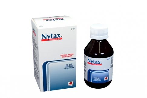 Nytax 100 mg/5mL Suspensión Reconstituida Frasco Con 60 mL Rx