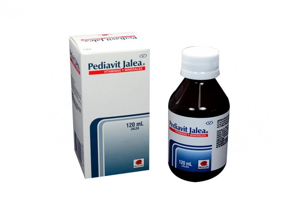 Pediavit Jalea Caja Con Frasco Con 120 mL