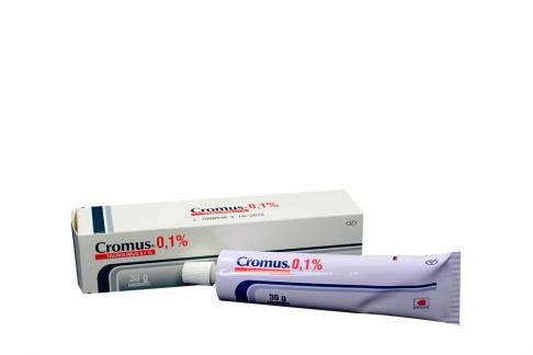 Cromus 0.1% Ungüento Caja Con Tubo Con 30 g Rx