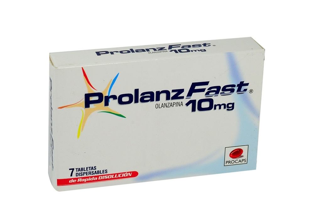 Prolanz Fast 10 mg Caja Con 7 Tabletas Dispersables Rx4
