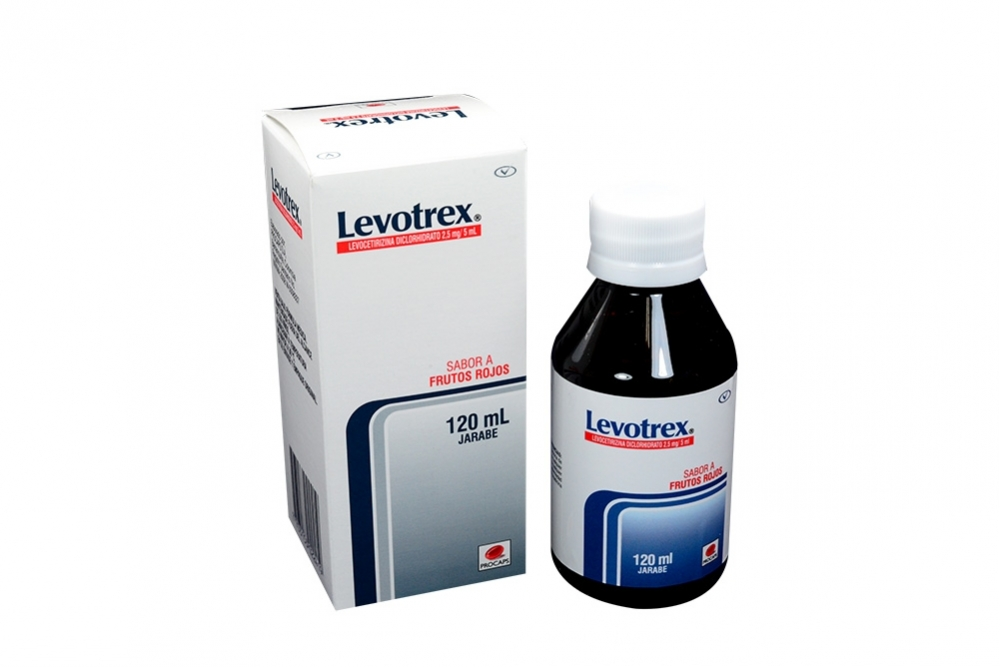 Levotrex Jarabe Caja Con Frasco x 120 mL RX