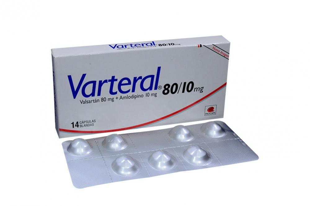 Varteral 80 / 10 mg Caja Con 14 Cápsulas Rx4