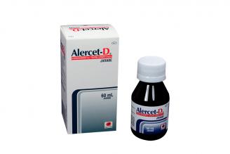 Alercet-D Jarabe Caja Con Frasco Con 60 mL Rx