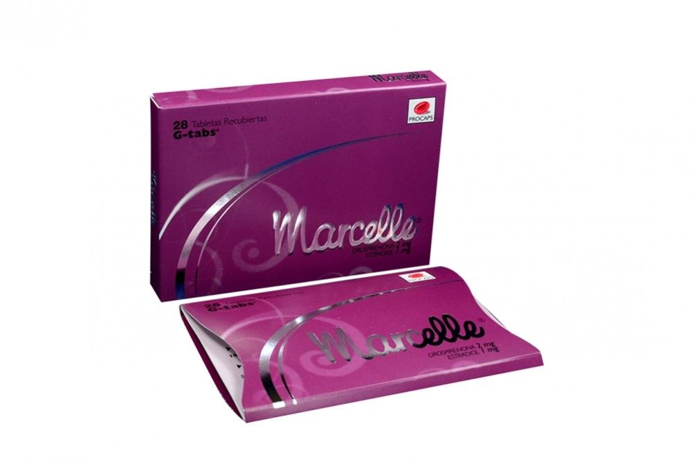 Marcelle Caja Con 28 Tabletas Recubiertas Rx