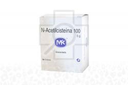 N-Acetilcisteina 100 5 g Caja Con 30 Sobres Con Granulos Rx