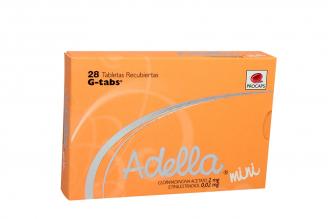 Adella Mini Caja x 28 Tabletas Recubiertas Rx