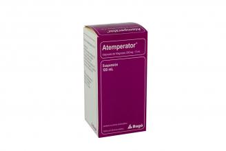 Atemperator Suspensión 200 mg / 5 mL Caja Con Frasco Con 120 mL Rx4