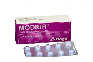Modiur 1.0 mg Caja X 40 Comprimidos RX2