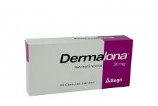 Dermalona 20 mg Caja Con 30 Càpsulas Blandas Rx5