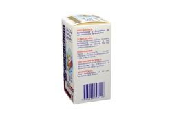 Broncochem Jarabe Para Adultos Caja Con Frasco Con 120 mL - Sabor A Tutyfruti