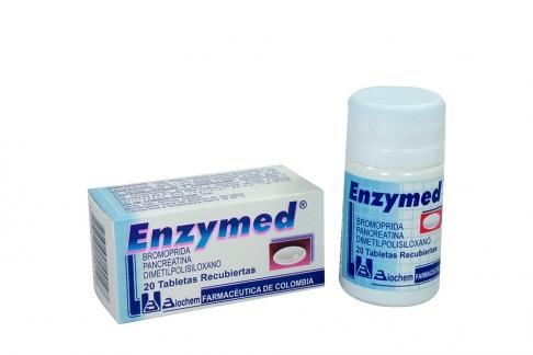 Enzymed Caja Con Frasco Con 20 Tabletas Recubiertas Rx
